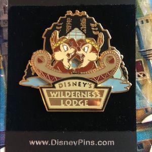 Disney Chip n Dale Wilderness Resort Pin
